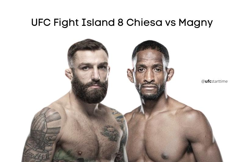 Michael Chiesa vs Neil Magny