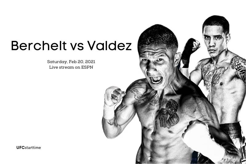 Berchelt vs Valdez live stream