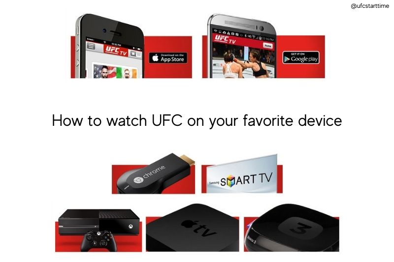 How to watch UFC on your favorite device